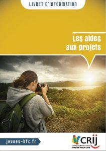 Livret d'information Crij BFC - Les aides aux projets