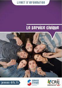 Livret d'information Crij BFC - Le service civique