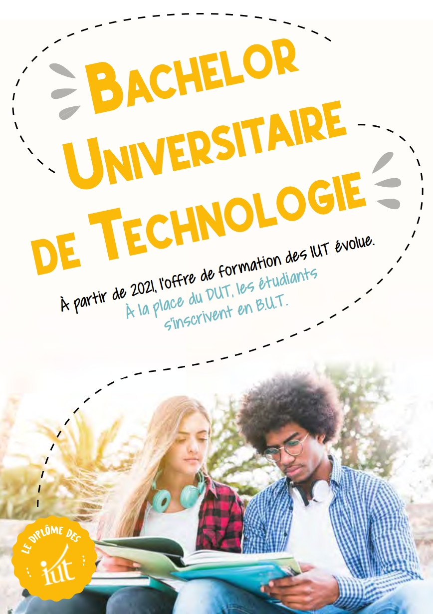 Visuel du Bachelor Universitaire de Technologie - BUT