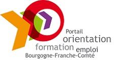 """Logo du portail """"Orientation - Formation - Emploi"""" Bourgogne-Franche-Comté"""