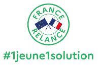 Logo de la plateforme #1jeune1solution