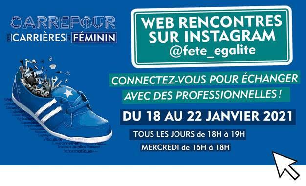 Carrefour des carrières au féminin - 18 au 22 janvier 2021