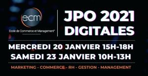 JPO Ecole de commerce et de management (ECM) - 2021