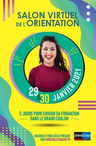 Salon virtuel de l'orientation du Grand Chalon - 29-30 janvier 2021