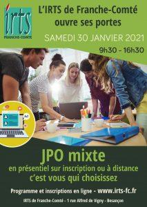 JPO de l'IRTS de Franche-Comté - 2021