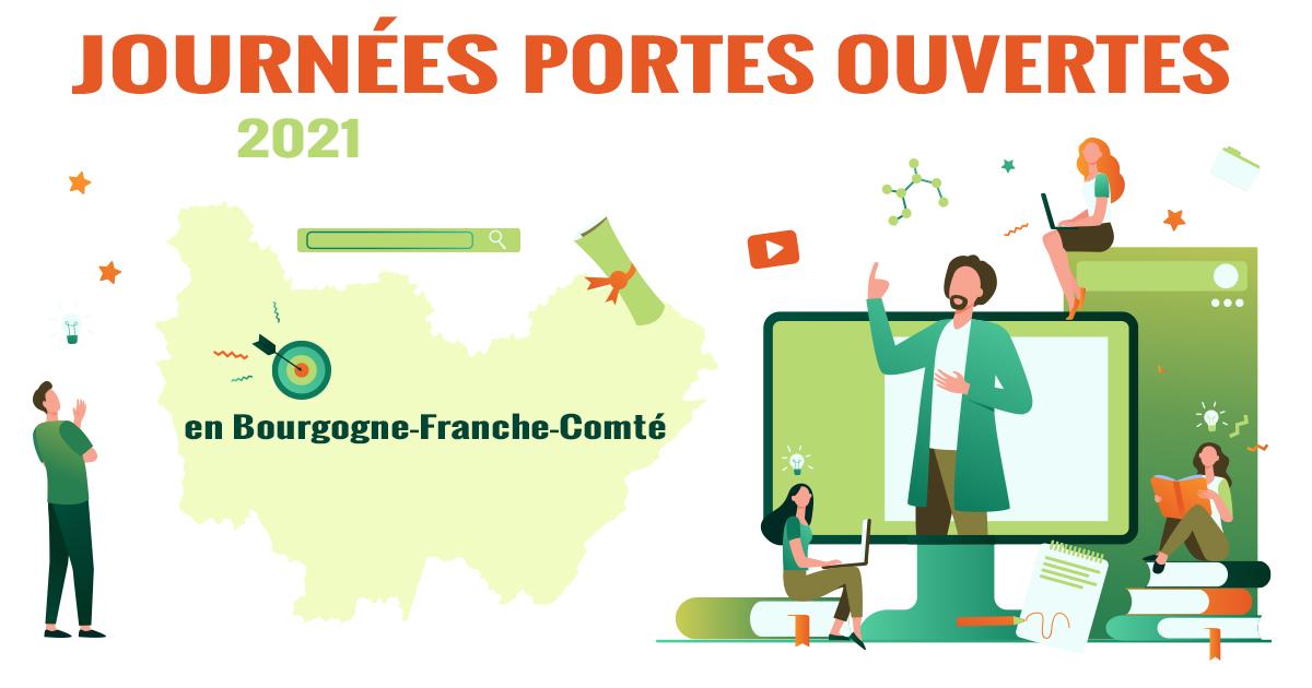 Journées portes ouvertes 2021 en Bourgogne-Franche-Comté