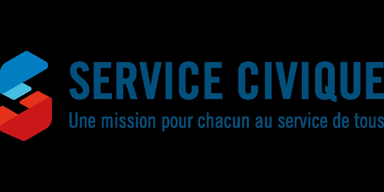Logo et slogan du Service Civique