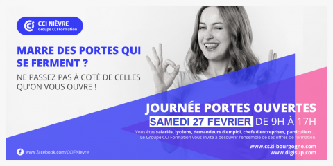 Journées portes ouvertes du campus numérique de Nevers - 27 février 2021