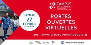 JPO du Campus Sud Bourgogne - 27 février 2021