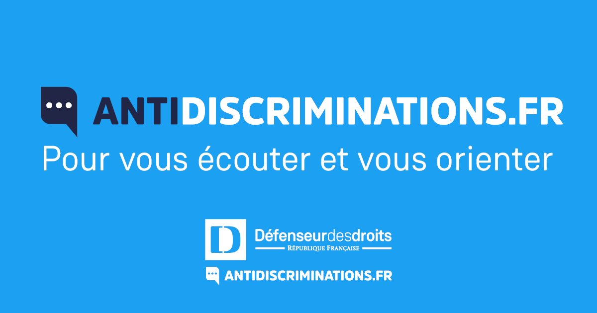 Victime de discrimination, connectez-vous à la nouvelle plateforme