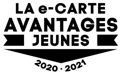 Logo e-carte avantages jeunes 2020 - 2021
