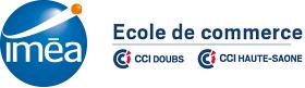 Logo école de commerce Iméa Franche-Comté