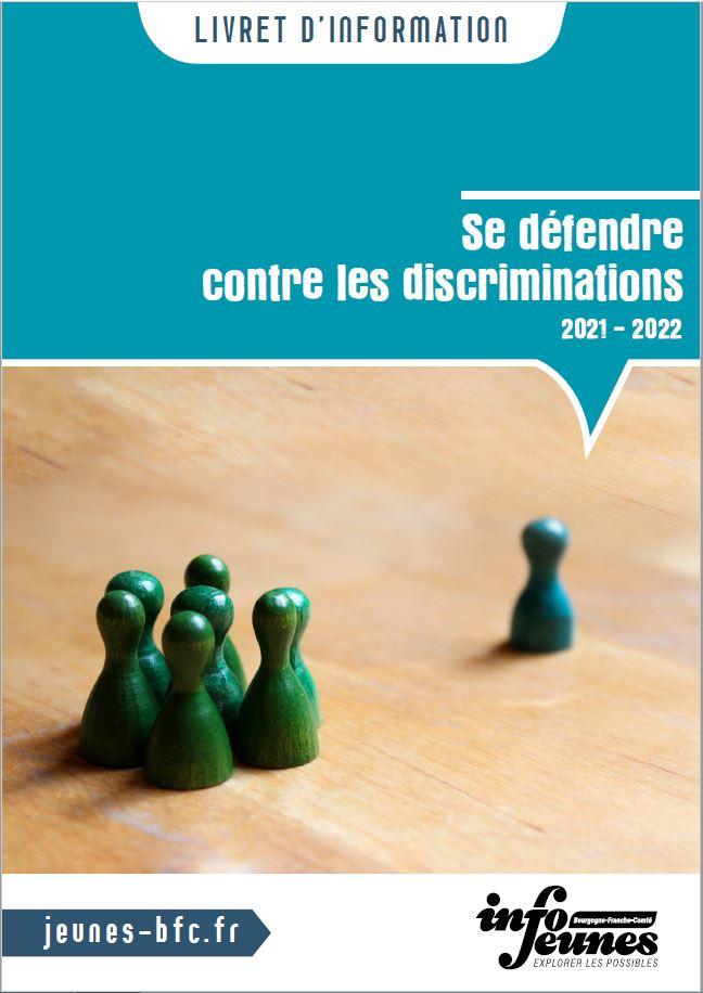 """Couverture du livret d'info """"Se défendre contre les discriminations"""""""