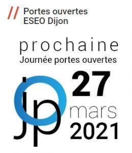 Journée portes ouvertes Eseo Dijon - 27 mars 2021