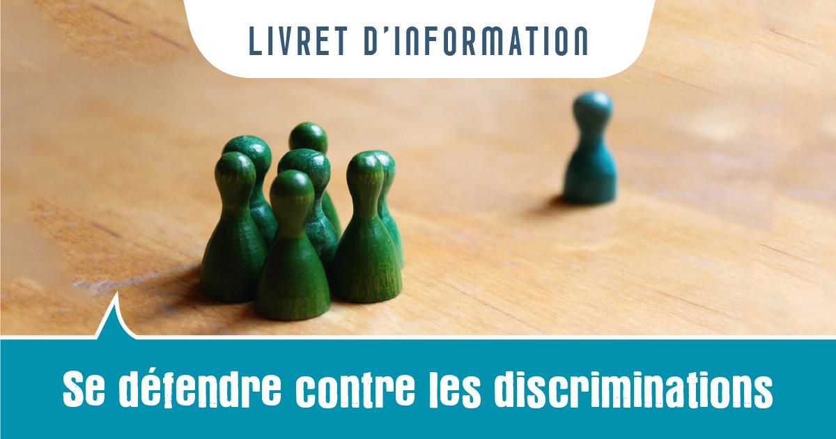 Se défendre contre les discriminations : nouveau livret d'info régional