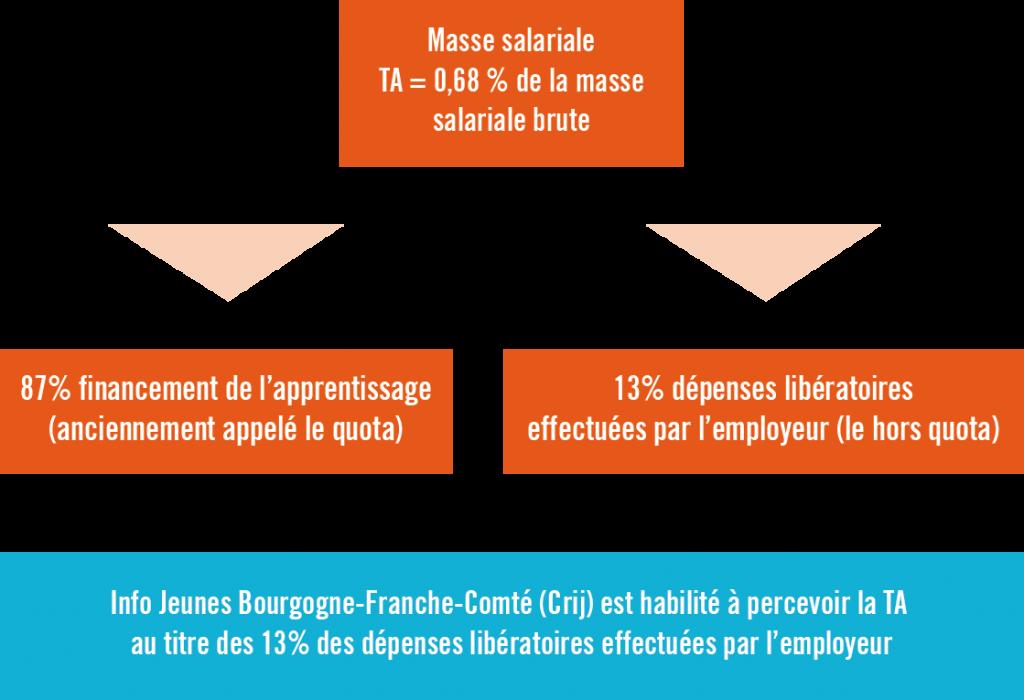 Infographie calcul Taxe d'Apprentisssage