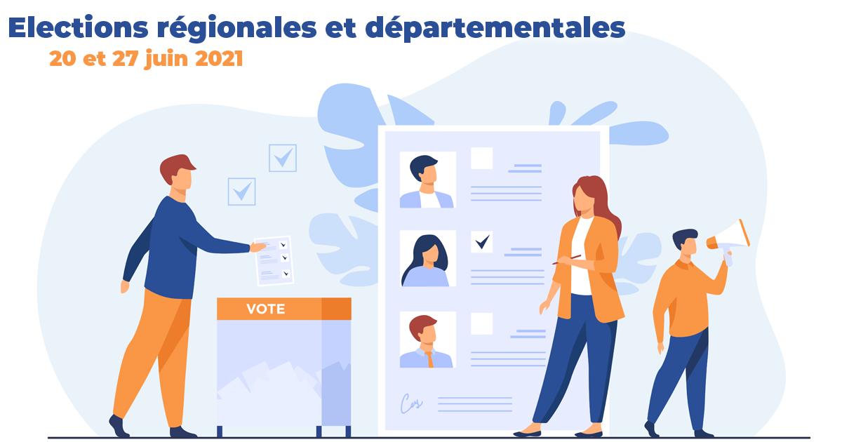 Les élections régionales et départementales auront lieu les 20 et 27 juin 2021