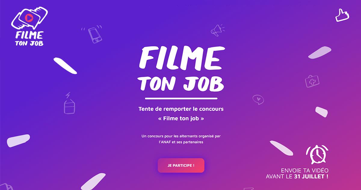 Concours Filme ton job 2021