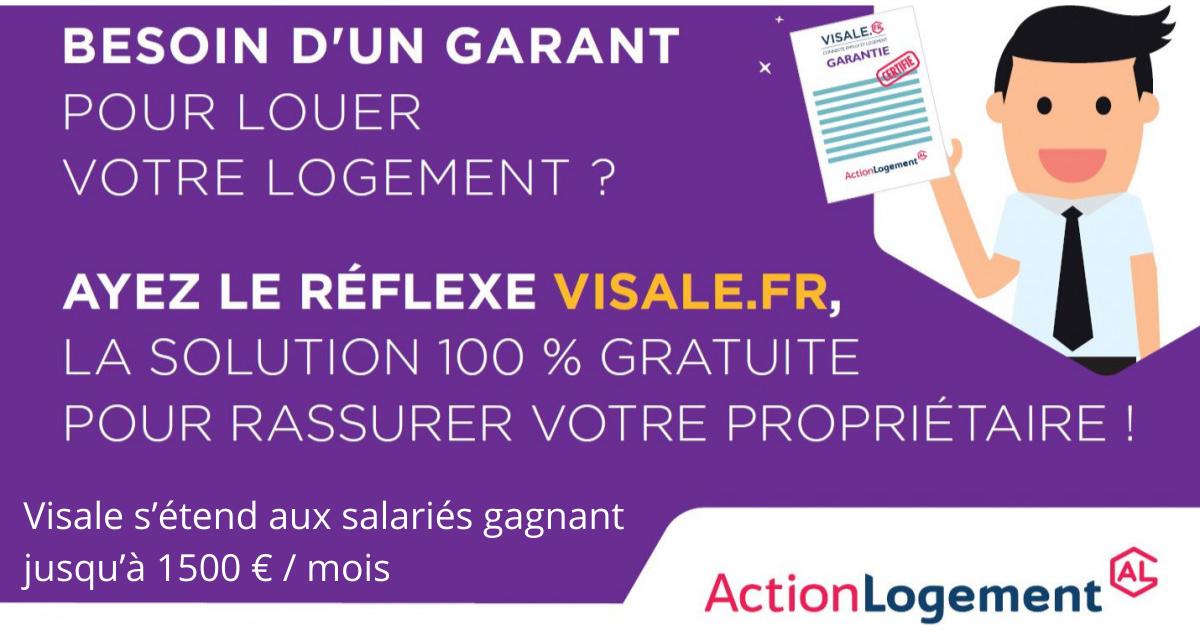 La caution Visale élargie à tous les salariés gagnant moins de 1 500 €