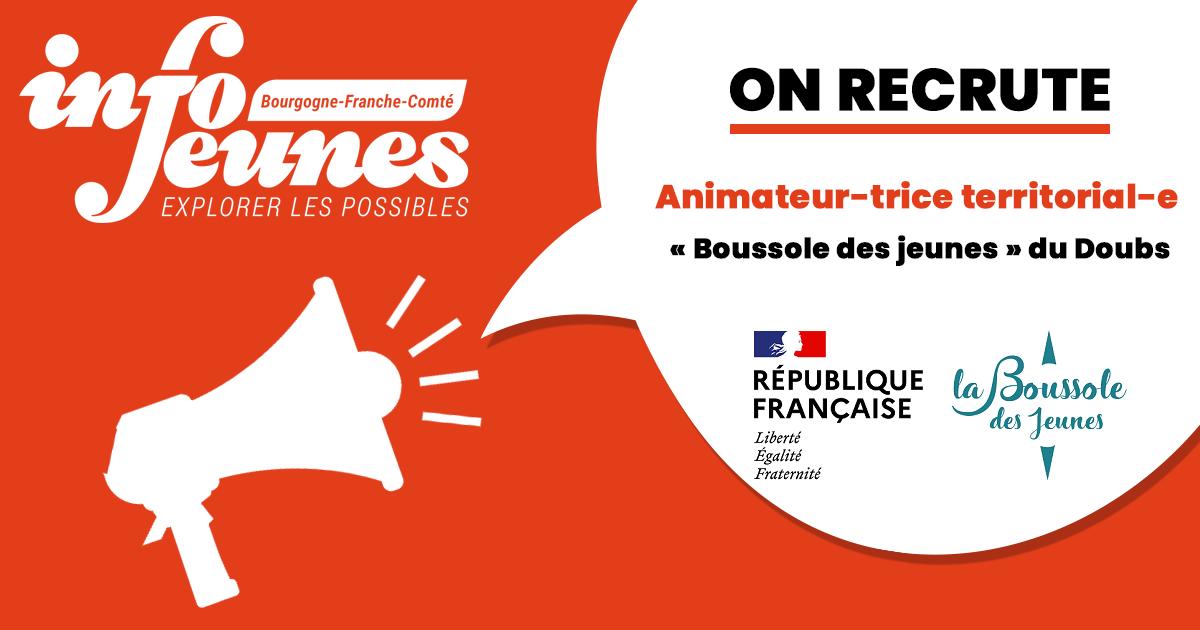 Info Jeunes Bourgogne-Franche-Comté (Crij) recrute