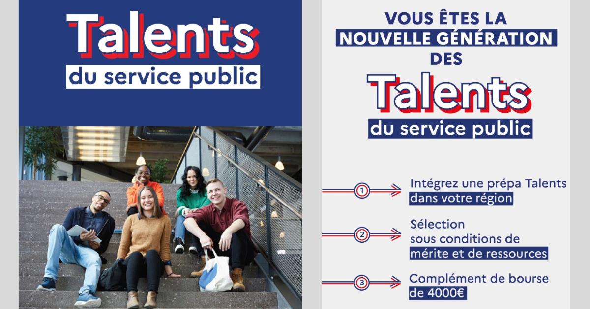 Les Prépas Talents, nouvelle voie d'accès à la haute fonction publique
