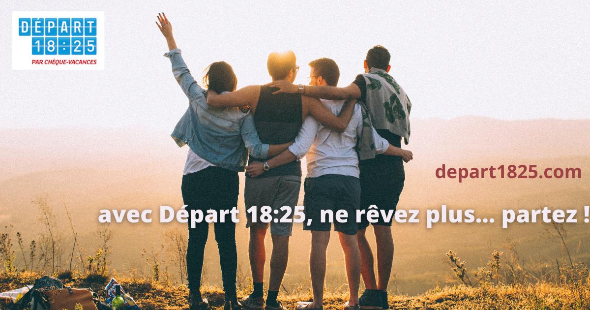 Départ 18:25, une aide qui finance une partie de vos vacances