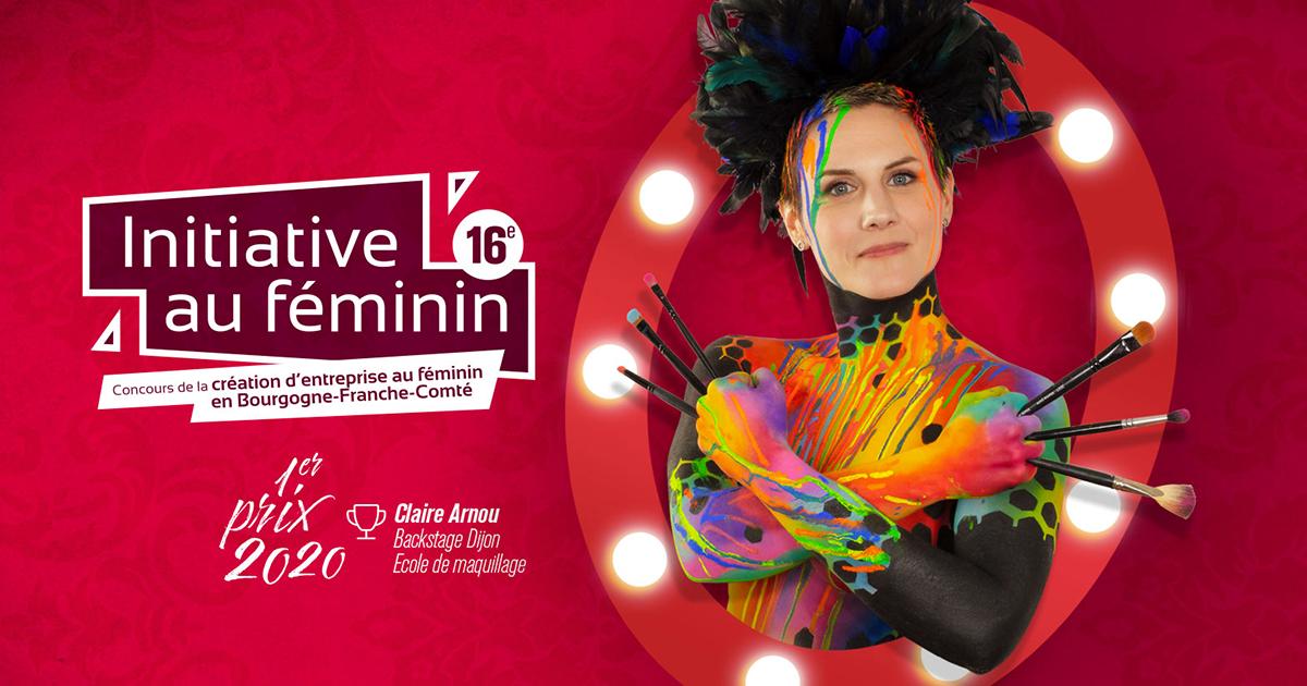 Visuel du concours Initiative au Féminin édition 2021