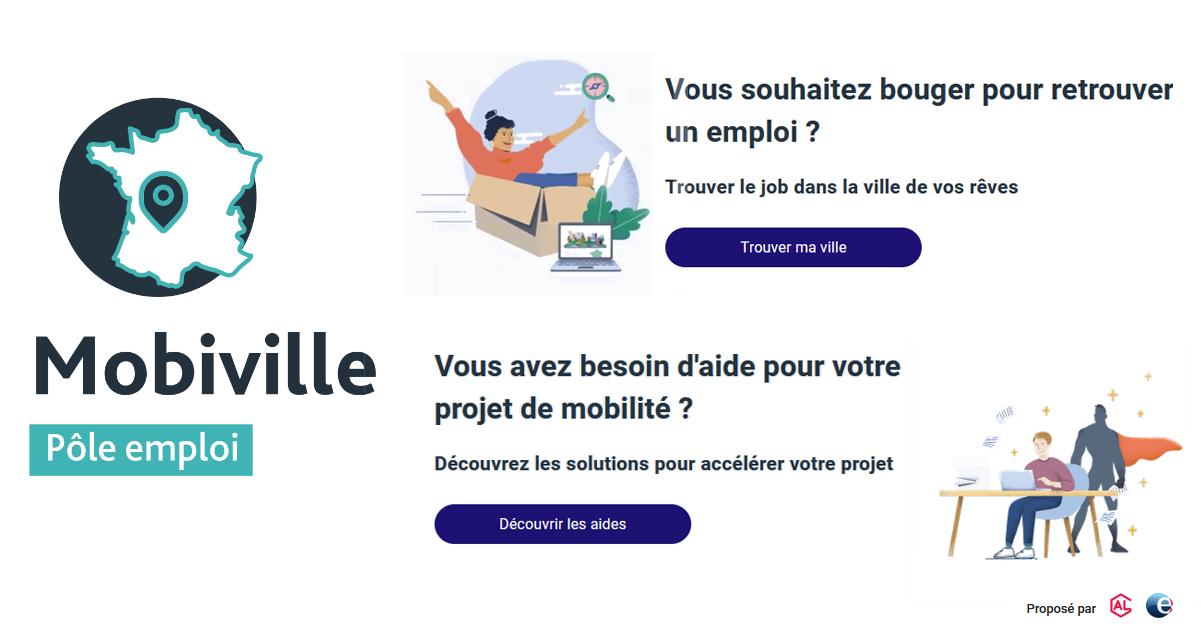 Mobiville : un service pour chercher un emploi dans une ville qui vous plaît