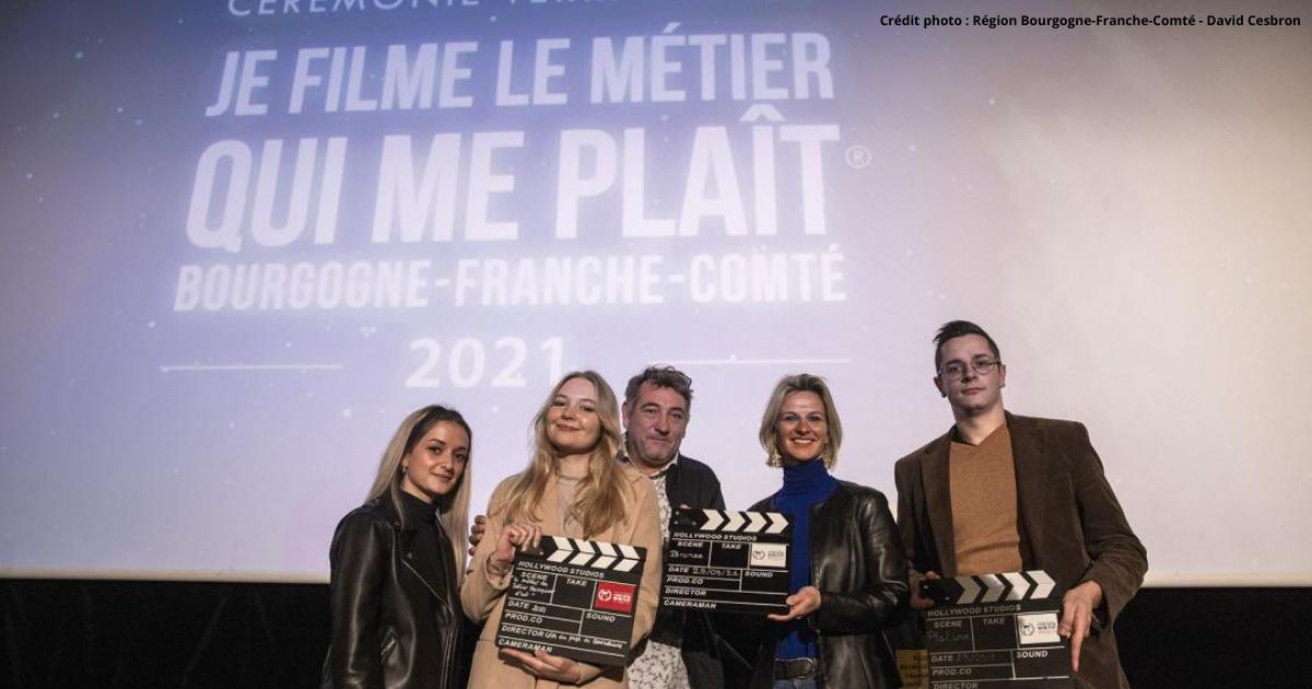 1ère édition régionale du concours « je filme le métier qui me plait » 2021