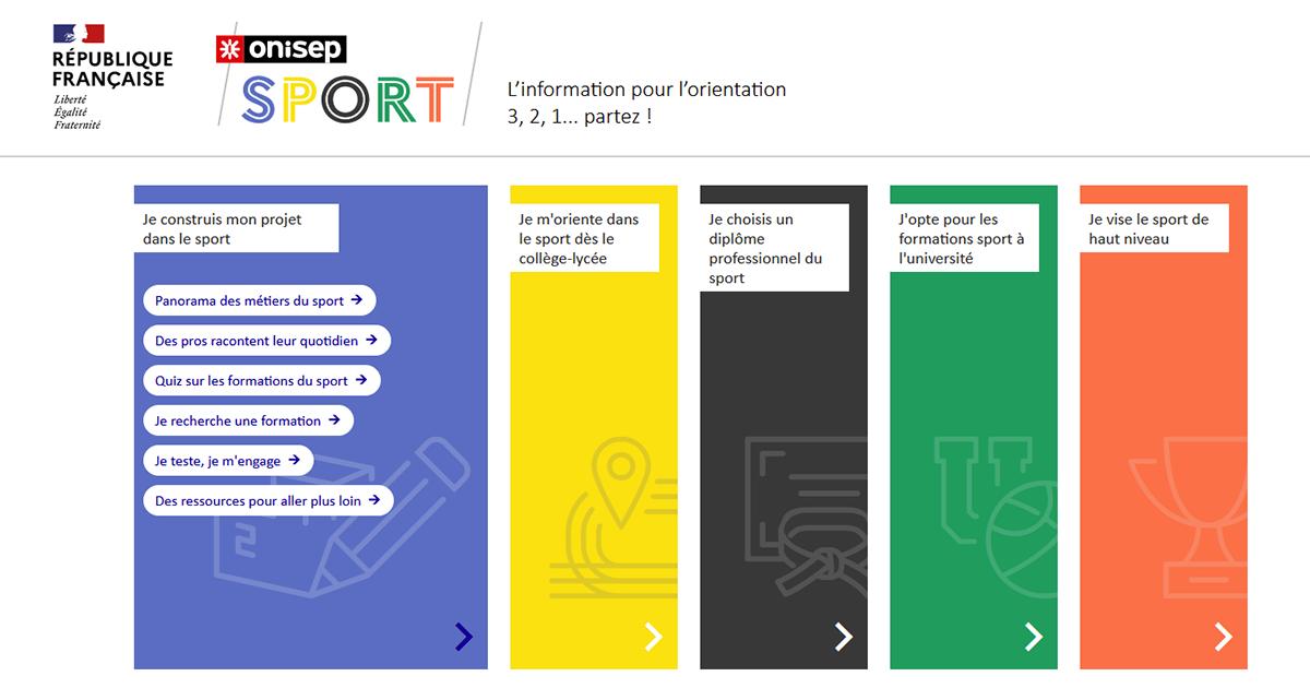 Onisep Sport : tout savoir sur les formations et métiers du sport